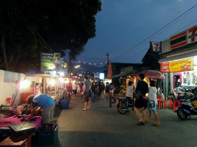 Walking Street в Пае