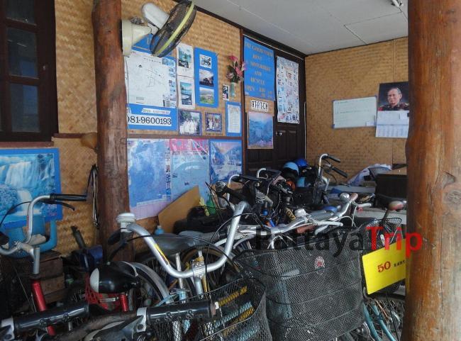 Аренда велосипедов в Пае