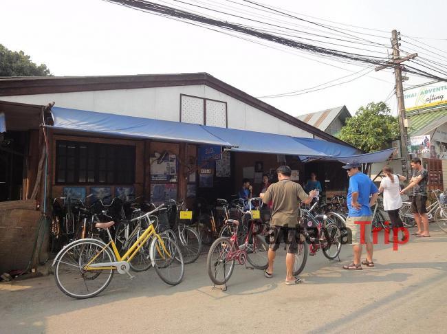 Прокат велосипедов в городе Пай