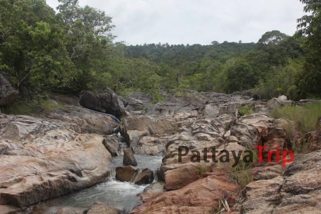 1ый уровень водопада Than Sadet на Ко Панган