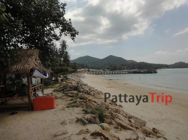 Ко Панган - пляж Chaloklum