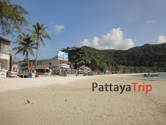 Ко Панган - пляж Haad Rin Nok