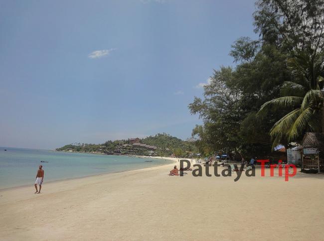 Ко Панган - пляж Haad Yao West