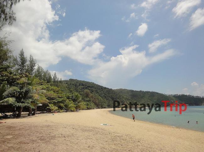 Ко Панган - пляж Mae Haad