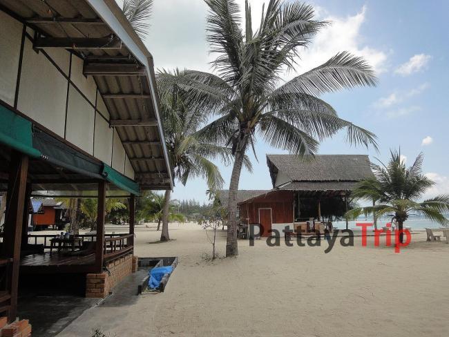 Ко Панган - пляж Srithanu