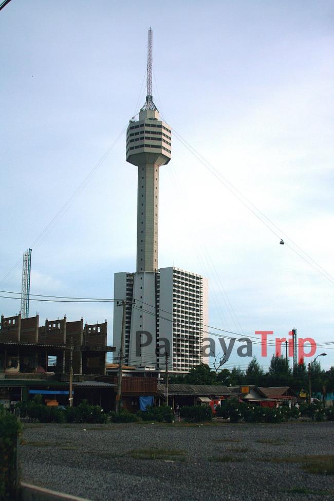 Башня отеля Pattaya park