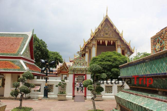 Храмовый комплекс Ват По в Бангкоке
