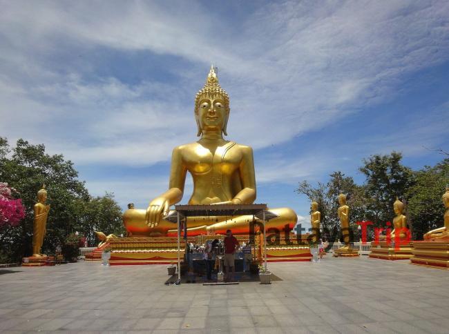 Большой Будда на обзорной экскурсии в Паттайе
