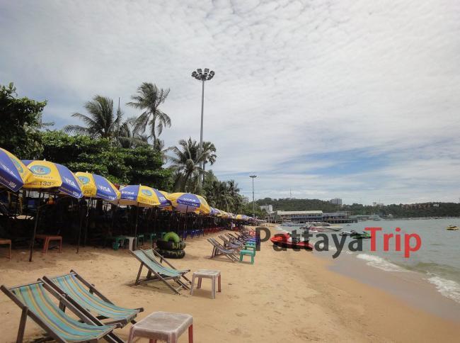 Pattaya Beach - центральный пляж в Паттайе
