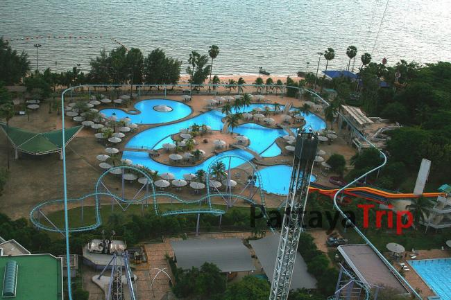 Аквапарк в Pattaya Park Beach Resort