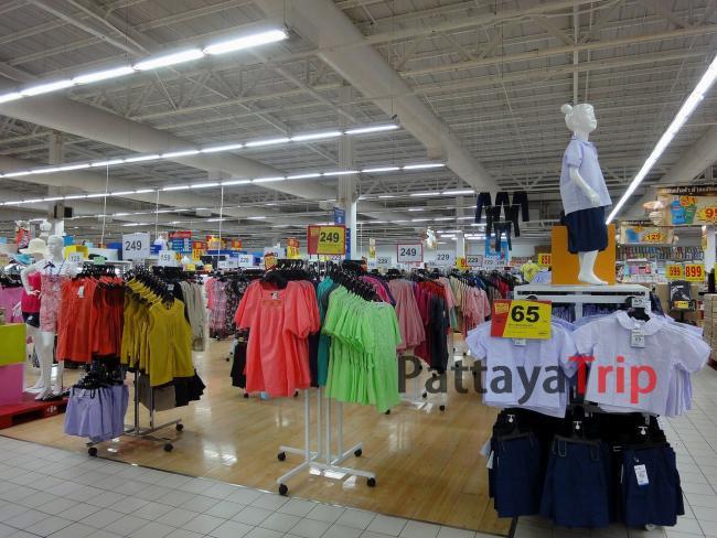 Одежда в торговом центре
