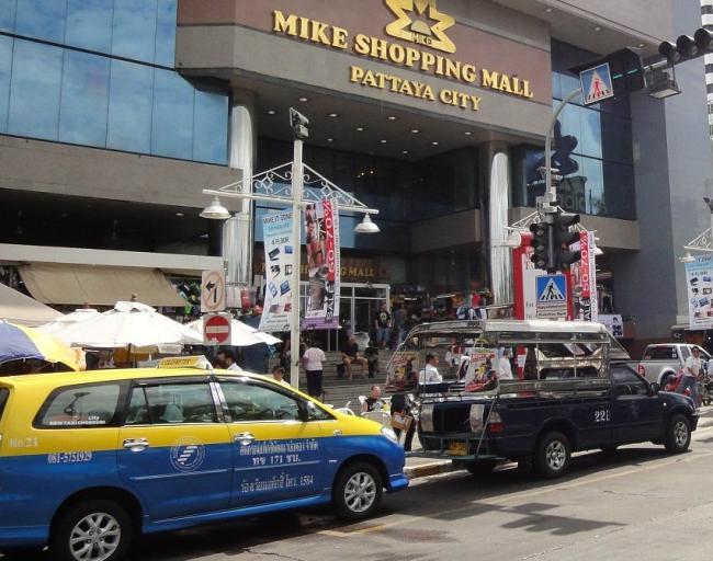 Кондиционированное такси и сонгтео в Паттайе