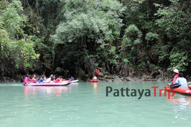 Экскурсия с Пхукета - путешествие на каноэ вокруг островов провинции Пханг Нга