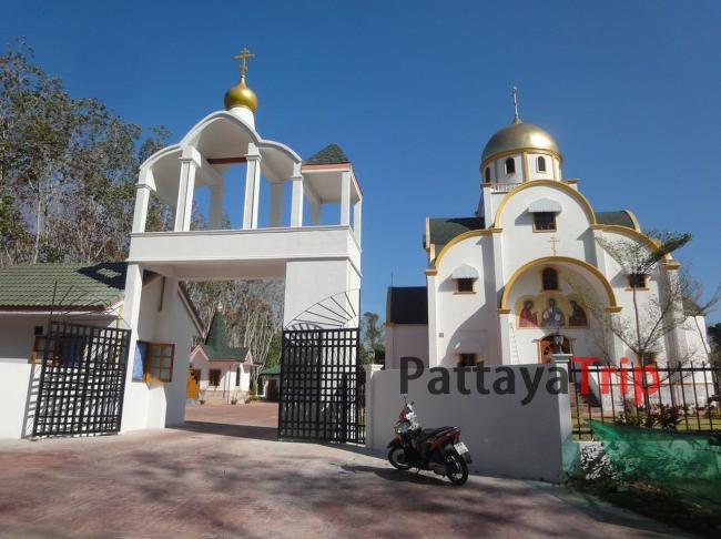Православный храм на Пхукете