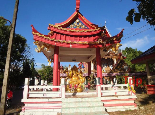 Храм индуисткого бога Ганеши