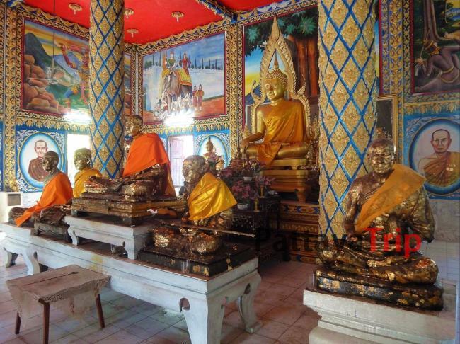 5 монахов и Будда