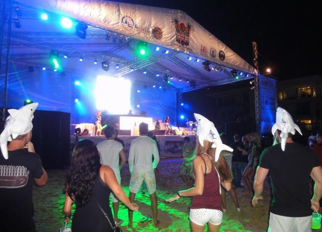 Новый год на пляже Карон (Пхукет)