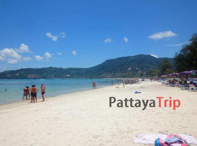 Пляж Патонг на Пхукете