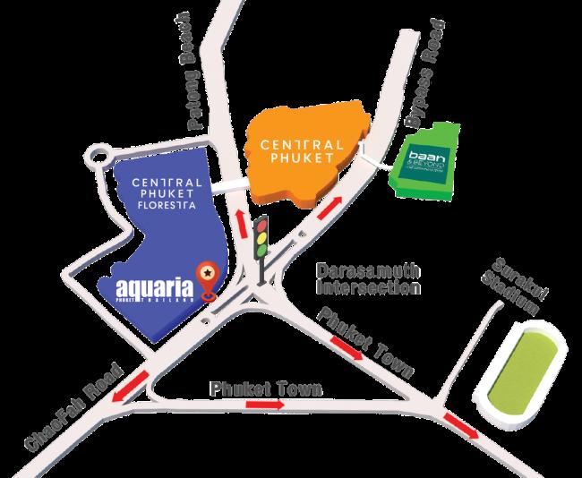 Карта зданий торговых центров