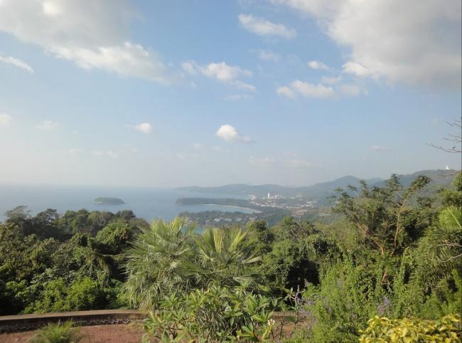 Смотровая площадка Karon View Point с видом на остров Пхукет