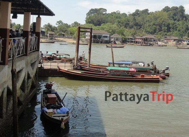 Лодки в Бирму
