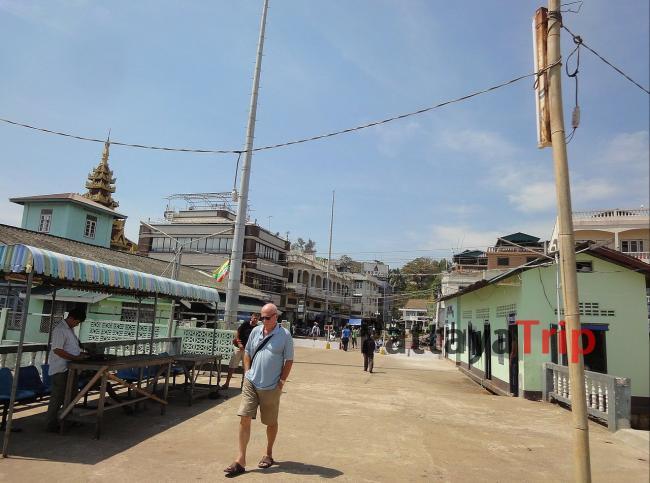 Пирс в Бирме