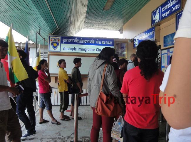 Виза Ран с Пхукета в Ранонг. На границе Тайланда в Ранонге