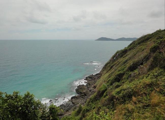 Смотровая площадка на Ao Prao на западе острова Самет