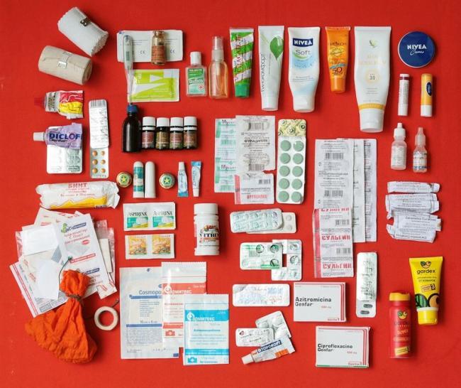 Как собрать аптечку за границу