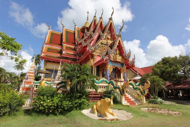 Обзорная экскурсия на Самуи. Храм Плай Лаем