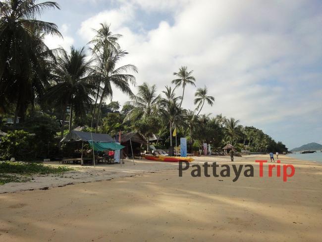 Пляж Талинг Нгам на Самуи