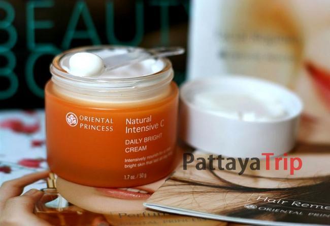 Дневной освежающий крем для лица с витамином С «Daily Bright cream»
