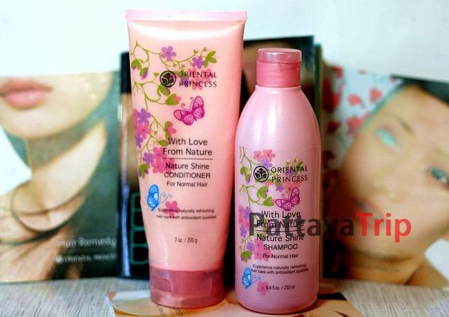 Шампунь и бальзам «Nature Shine» для нормальных волос