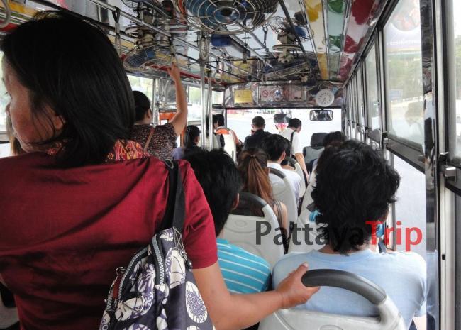 В автобусе на пути в Эккамай