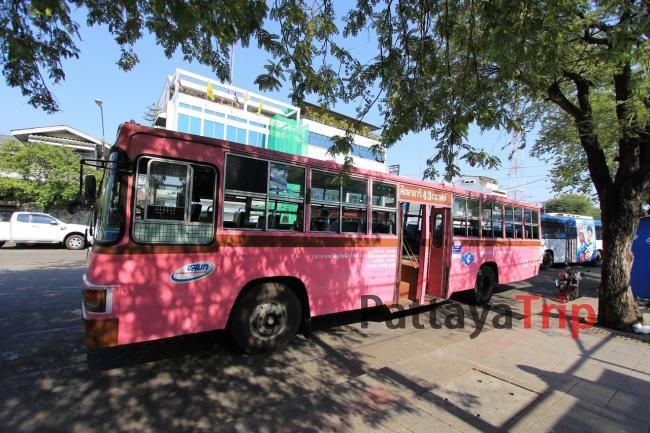 Городские автобусы в Бангкоке