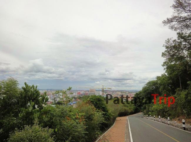 Дорога к буквам Pattaya
