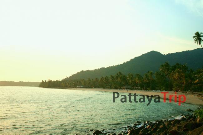 Пляж Bang Bao на острове Ко Чанг (Тайланд)