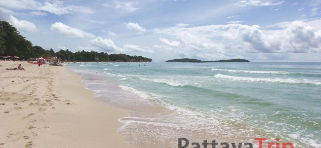 Пляж Чавенг на острове Самуи
