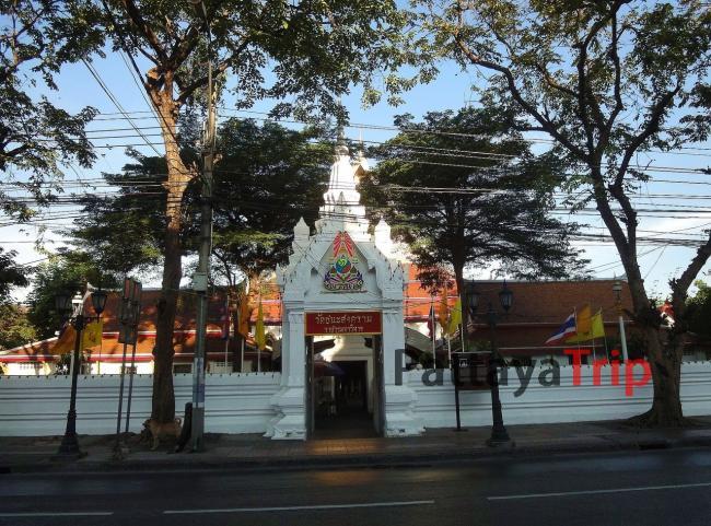 Wat Chana Songkhram в Бангкоке