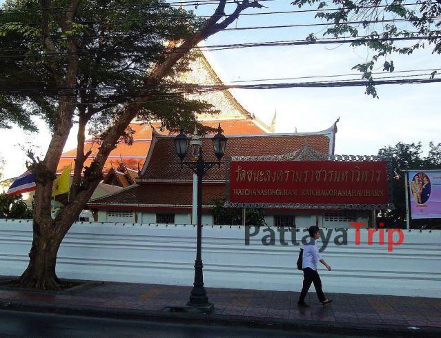Wat Chana Songkhram в Тайланде