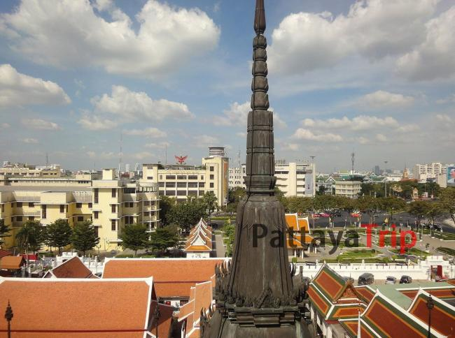 Панорама с Wat Ratchanatdaram