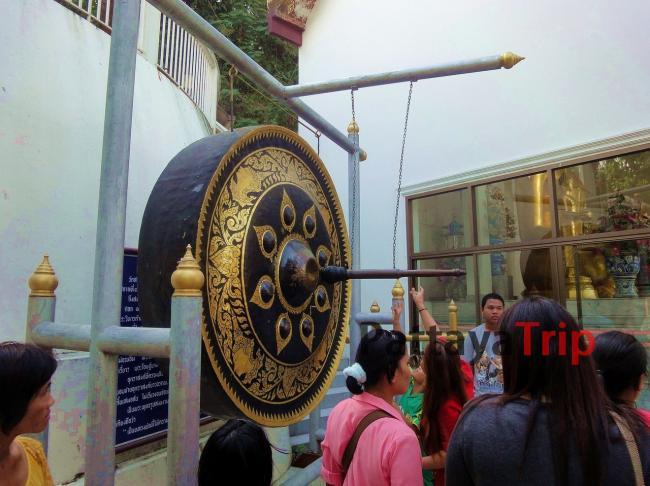 Гонг в Ват Сакет