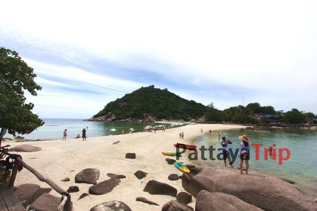 Koh Nang Yuan пляж