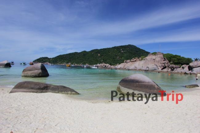 Нанг Юань фото пляжа