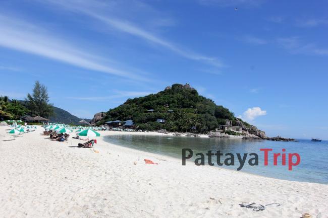 Пляж острова Нанг Юань