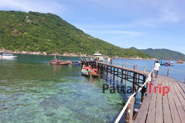 Пристань острова Нанг Юань