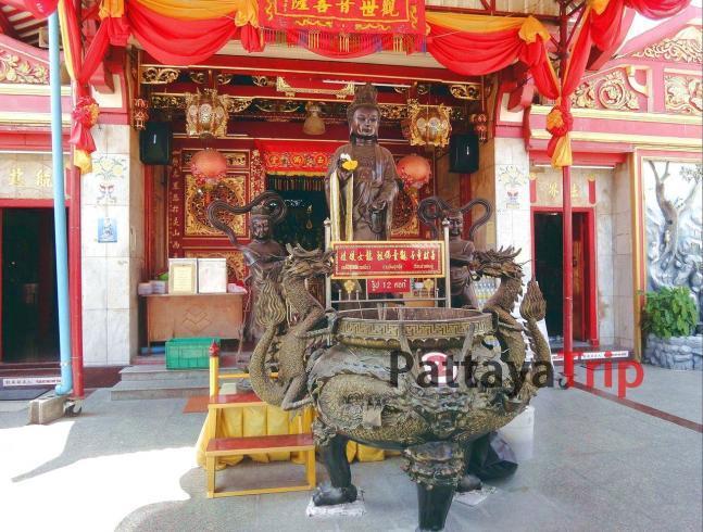 Китайская богиня милосердия Kwan Im