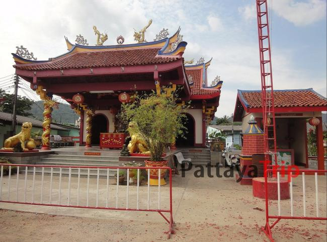 Китайский храм Samkong Shrine