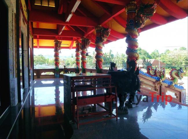 Китайский храм в районе Таланг на Пхукете