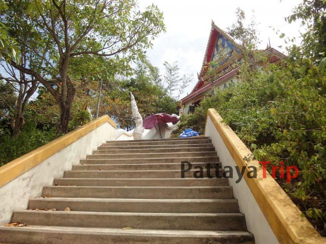 Лестница к вершине холма